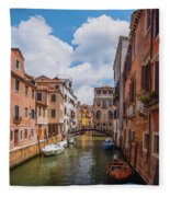 Venice, Italy Fleece Blanket