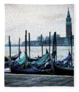 Venice Morning Fleece Blanket