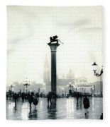 Venice October Fleece Blanket