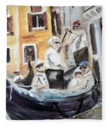 Venice Party Fleece Blanket