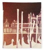 Venice Reversed Fleece Blanket