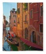 Venice Sentimental Journey Fleece Blanket