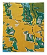 Venice Upside Down 1 Fleece Blanket