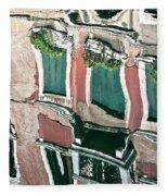 Venice Upside Down 3 Fleece Blanket