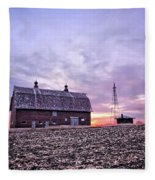 Ventura Barn Fleece Blanket