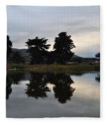 Ventura California Coast Estuary Fleece Blanket