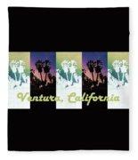 Ventura, California Fleece Blanket