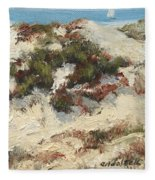 Ventura Dunes I Fleece Blanket