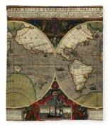 Vera Totius Expeditionis Nauticae Of 1595 Fleece Blanket