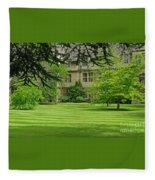 Verdant England Fleece Blanket