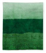 Verde Landscape 1- Art By Linda Woods Fleece Blanket