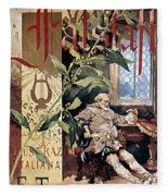 Verdi E Il Falstaff Fleece Blanket