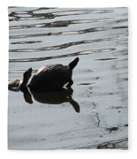 Vereen Turtles Fleece Blanket