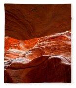 Vermilion Cliffs Abstract Fleece Blanket