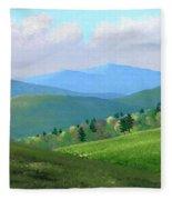 Vermont Pastures Fleece Blanket