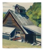 Vermont Sugar House Fleece Blanket