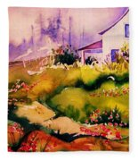 Vermont Summers Fleece Blanket
