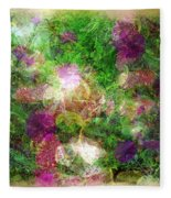 Vernal Equinox Fleece Blanket