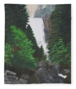 Vernal Falls Fleece Blanket