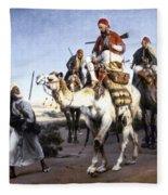 Vernet: Arabs, 1843 Fleece Blanket