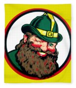 Vernors Ginger Ale - The Vernors Gnome Fleece Blanket