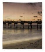 Vero Beach Sunrise Fleece Blanket