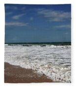 Vero Beach Surf Fleece Blanket