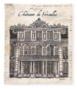 Versailles Fleece Blanket