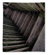 Vertigo - Stairs To The Unknown Fleece Blanket