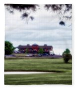 Vesper Hills Golf Club Tully New York 03 Fleece Blanket