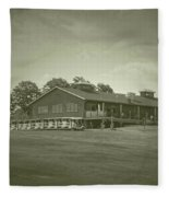 Vesper Hills Golf Club Tully New York Antique 01 Fleece Blanket
