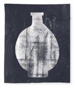 Vessel 1- Art By Linda Woods Fleece Blanket