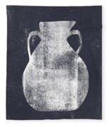 Vessel 5- Art By Linda Woods Fleece Blanket