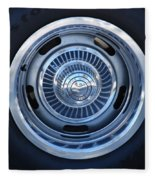 Vette Wheel Fleece Blanket