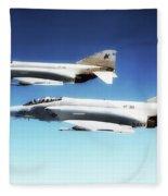 Vf-301 Phantoms Fleece Blanket