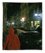 Via San Gallo Fleece Blanket