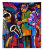 Vibrant Jazz Fleece Blanket