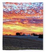 Vibrant October Fleece Blanket