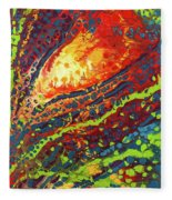 Vibrant Verve Fleece Blanket