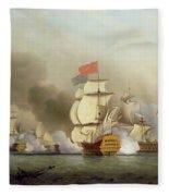 Vice Admiral Sir George Anson's Fleece Blanket