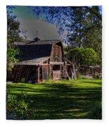 Vic's Barn II Fleece Blanket