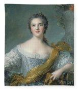 Victoire De France At Fontevrault Fleece Blanket