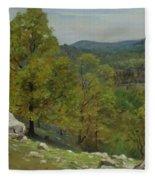 Victor Coleman Anderson  1882  1937  Rocky Uplands 1921 Fleece Blanket