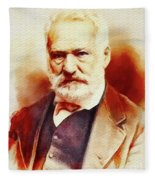Victor Hugo, Literary Legend Fleece Blanket