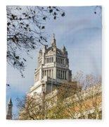 Victoria And Albert Museum London Fleece Blanket