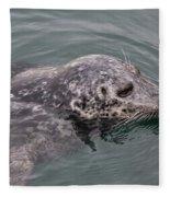 Victoria Seal  Fleece Blanket