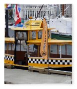 Victoria Water Taxi Fleece Blanket