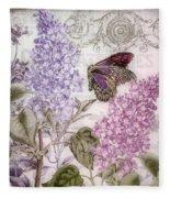 Victorian Romance II Fleece Blanket