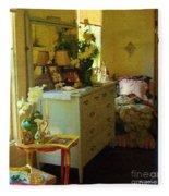 Victorian Sunshine Fleece Blanket