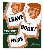 Victory Book Campaign - Wpa Fleece Blanket